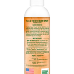 TropiClean Natural Flea & Tick Bite Relief Spray for Dogs and Cats, Relieves Itching Fast